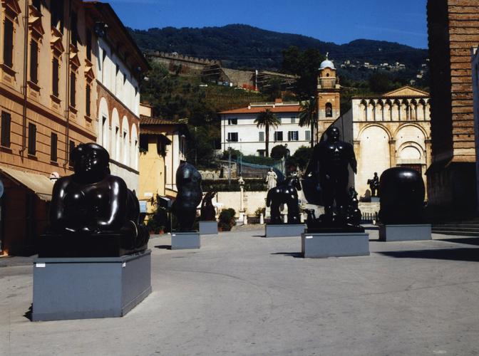 Botero a pietrasanta museo dei bozzetti - Botero uomo in bagno ...