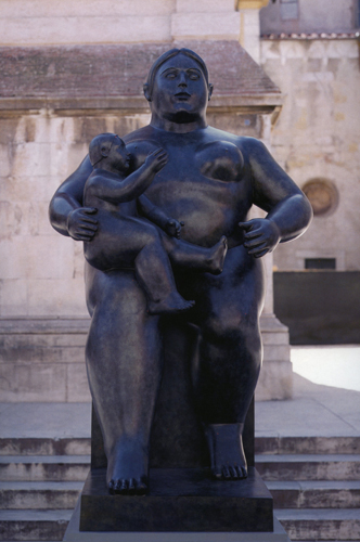 Botero a pietrasanta museo dei bozzetti - Botero il bagno ...