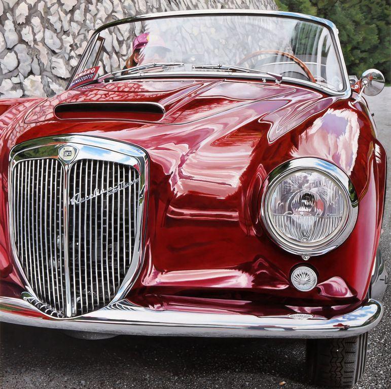 Ghinato Enrico: Riflessi Sull'auto Italiana Del Mito